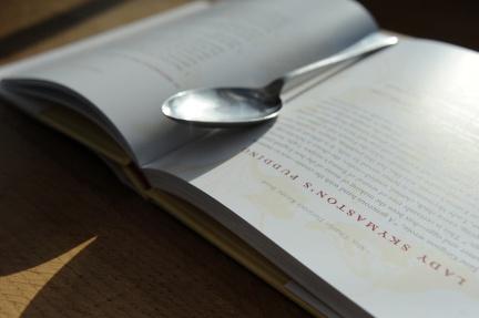 Emma Darwin's cookbook inside